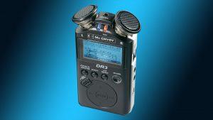 Conrad McCrypt DR3 Portable Recorder