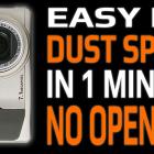 Digital Compact Camera Sensor & Lens Express Cleaning