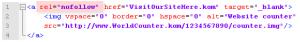 Blog Counter Solving External Linking