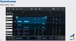 Samsung Soundcamp DAW MIDI Editor