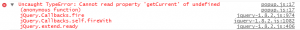 Google Chrome Uncaught TypeError Cannot read property 'getCurrent' of undefined