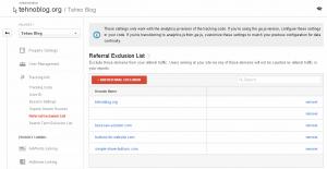 Google Analytics - Referral Exclusion List 3