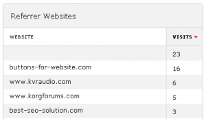Piwik Analytics - Referrer URL Spam