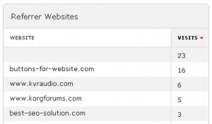 Piwik Analytics - Referrer URL Spam