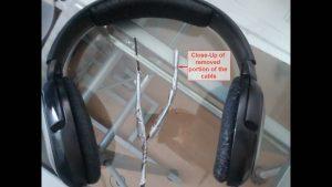 SENNHEISER HD 201 Headphones Cable Repair 01