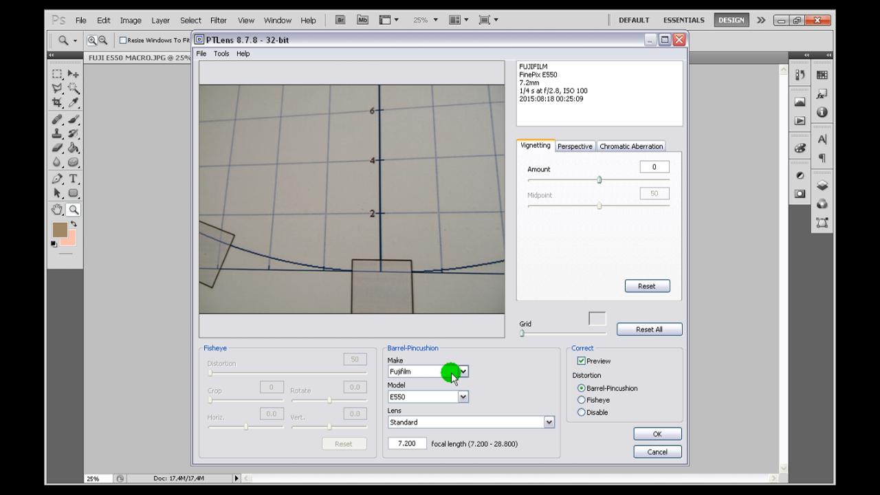 Photoshop image distortion correction tutorial basic complex pt lens baditri Gallery