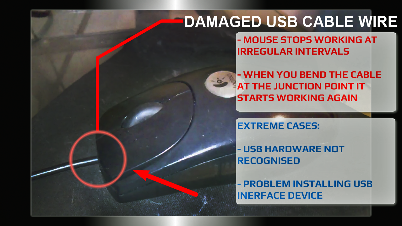 logitech computer mouse usb cable repair video guide. Black Bedroom Furniture Sets. Home Design Ideas