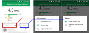 Google Play Store - How To See Latest App Reviews