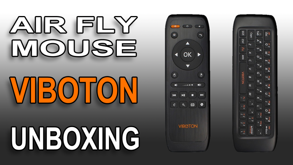 REVIEW VIBOTON Fly Air Mouse Wireless USB Remote Control Keyboard Combo For Android PC Smart TV Box