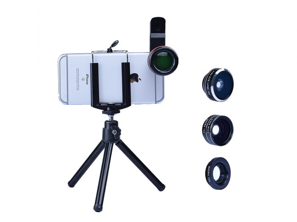 REVIEW Apexel Macro, Wide and Tele Mobile Phone Lens For iPhone, Galaxy, Xperia