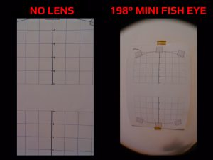 Apexel MINI LENS SET - 198 deg FISH EYE LENS - Photo Comparison
