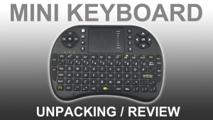 REVIEW Wireless USB Mini-Keyboard for Smart TV Box PC Raspberry Pi