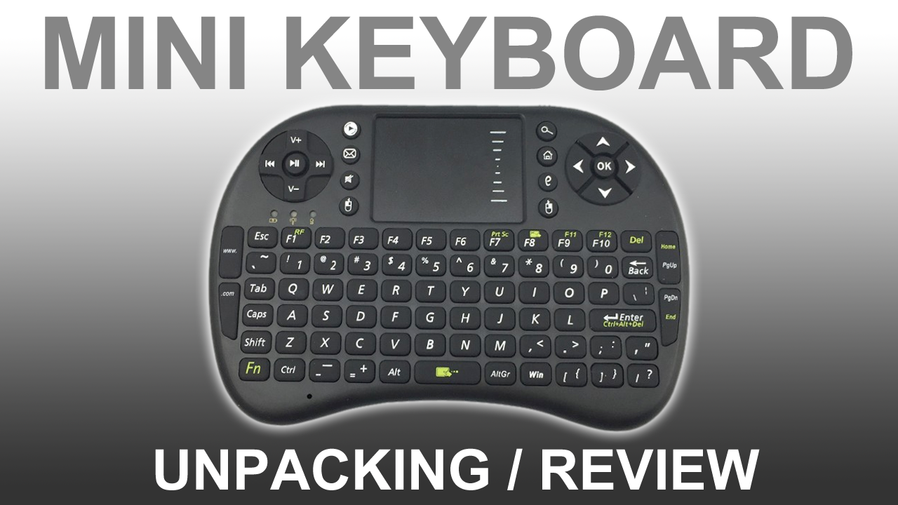 REVIEW Fly Air Mouse Wireless USB Remote Control Keyboard Combo For