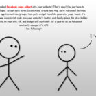 Facebook AppId And Page Widget Comic