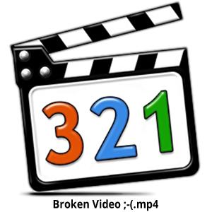 MPC HC Broken Video Icon