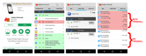 NoRoot Firewall App + ES File Explorer
