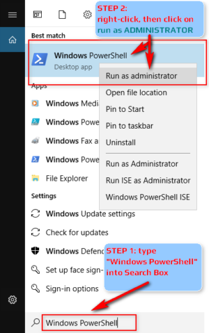 Microsoft Windows 10 PowerShell - How To Run