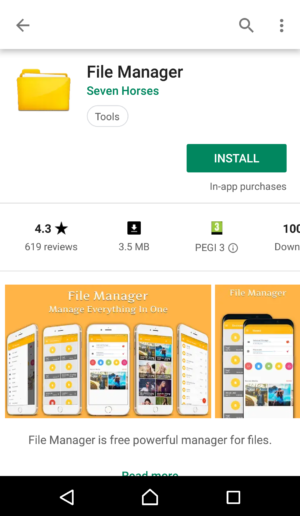 File Manager by Seven Horses