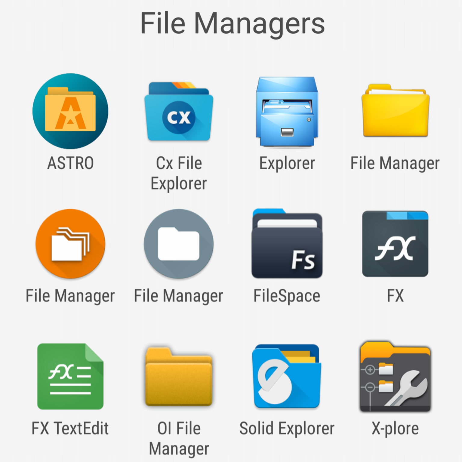 9 Free ES File Explorer Manager Alternatives – No ADS! - TehnoBlog org