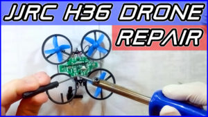 JJRC H36 Drone Frame Replacement Repair