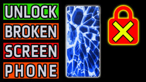 How To Unlock Android Phone with Broken Cracked Flickering Malfunctioning Screen - Data Photo Video Recovery Backup Guide