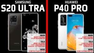 Samsung Galaxy S20 Ultra vs Huawei P40 Pro Camera Photo Quality Comparison