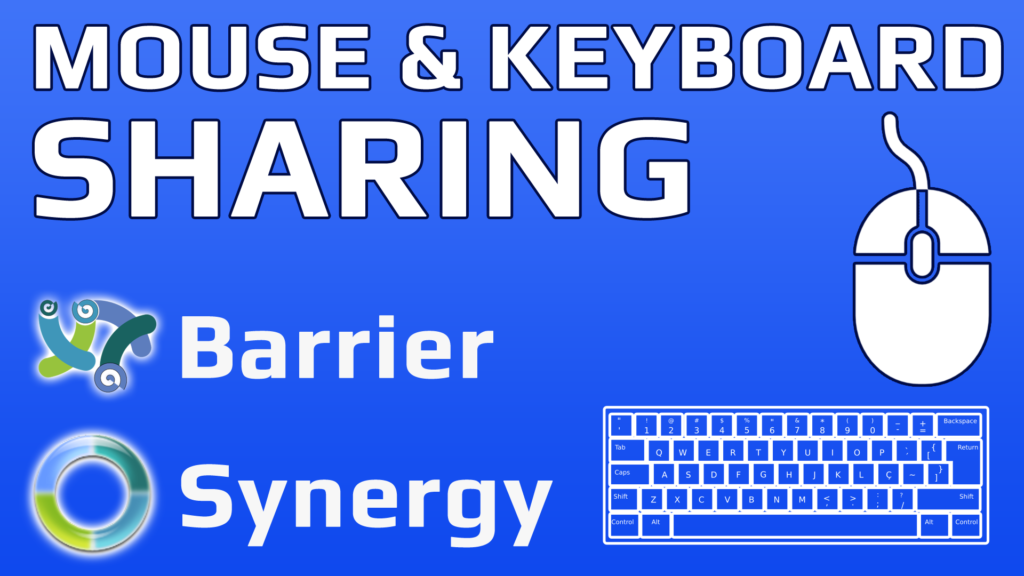 How To Share One Mouse And Keyboard Between Multiple Computers