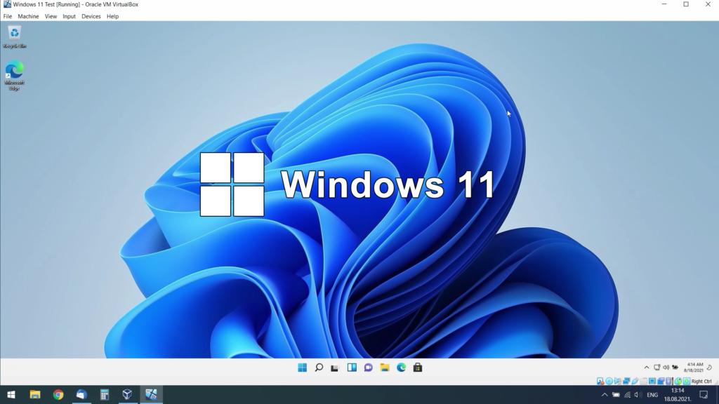 How To Install Windows 11 as Virtual Machine on Windows 10 using VirtualBox
